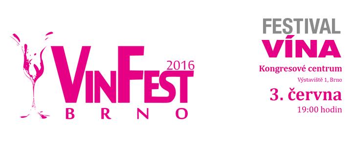 Logo of Vinfest Brno 2016, jehož je K-net partnerem
