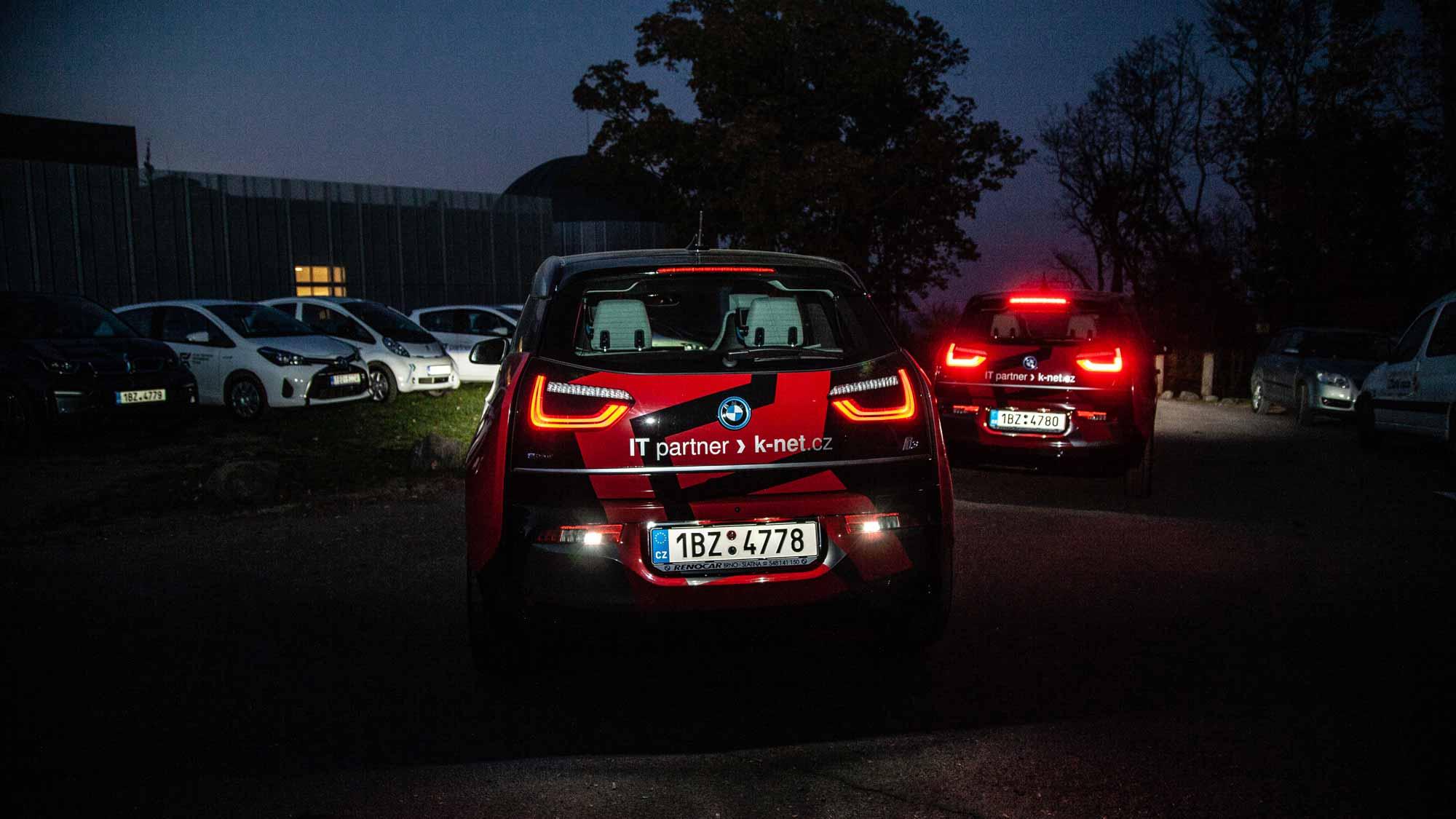 BMW z flotily K-net v noci