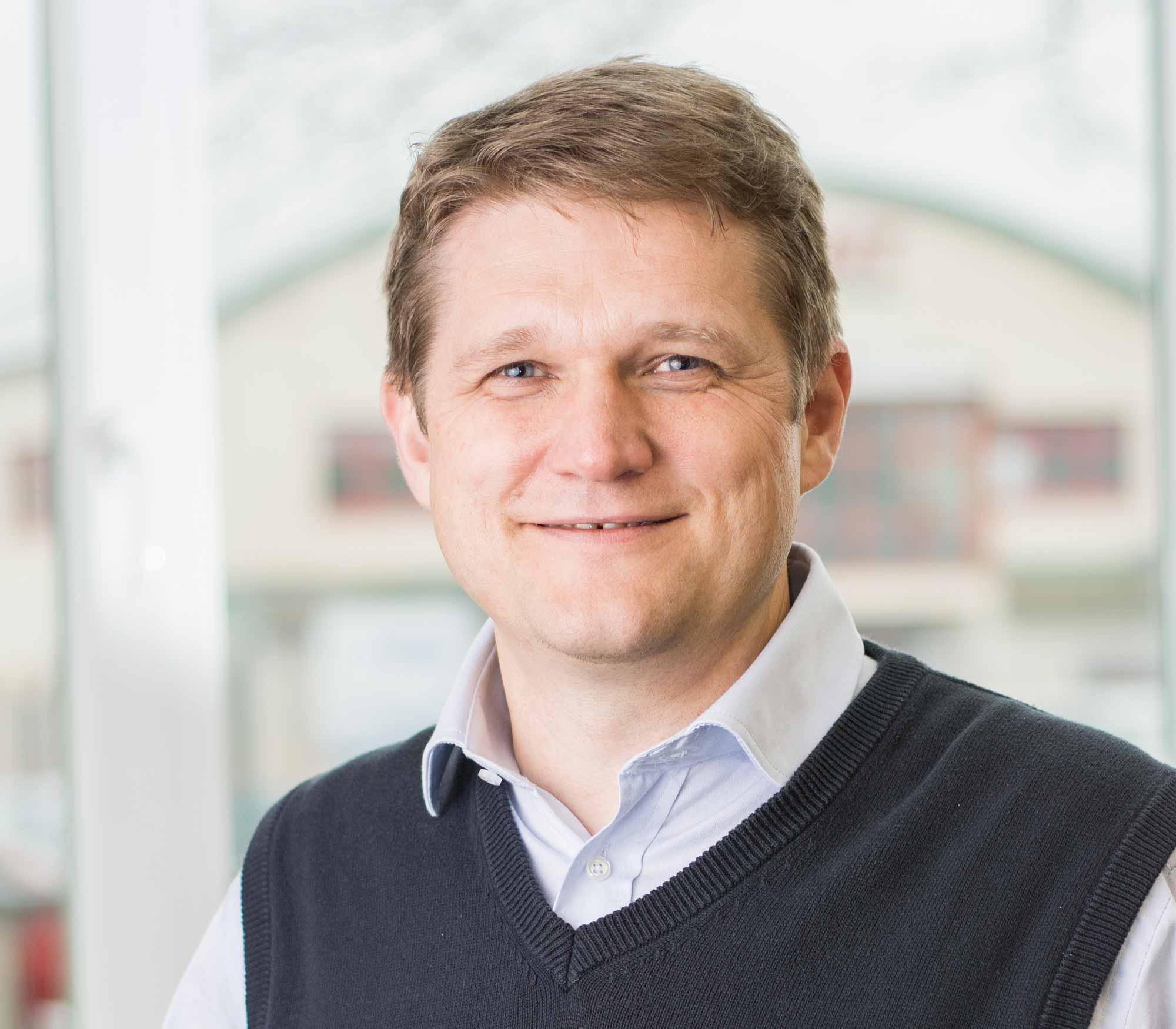portrét Tomáše Knettiga, jednatel společnosti K-net