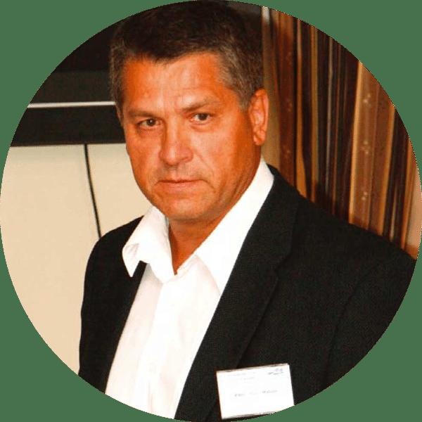 Portrait of Pavel Matula, IT manager, INTELEK