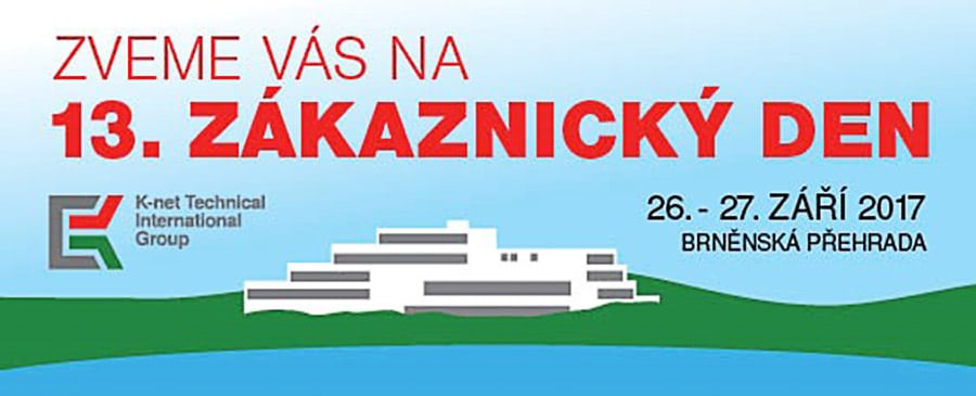 "Invitation for the 13th ""Zakaznicky den"" of K-net"