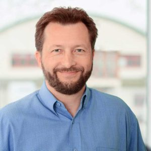 Portrait of the K-net manager of sales and marketing department, Petr Župka