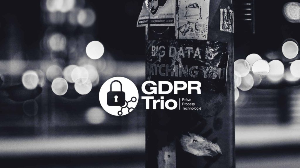 Logo of K-net GDPR service with street in background