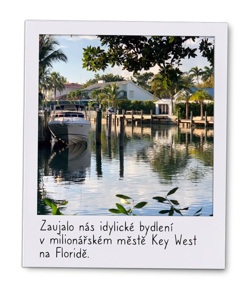 Polaroid of Key West, Florida