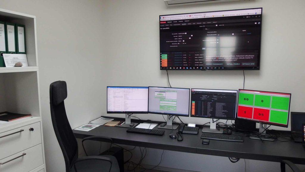 Pohled na K-net Helpdesk ajeho monitorování díky netGaurd