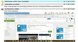 NetSupport School Deník vyučovací hodiny náhled