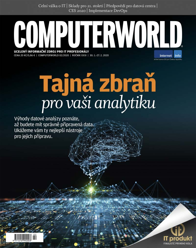 Obálka časopisu Computerworld