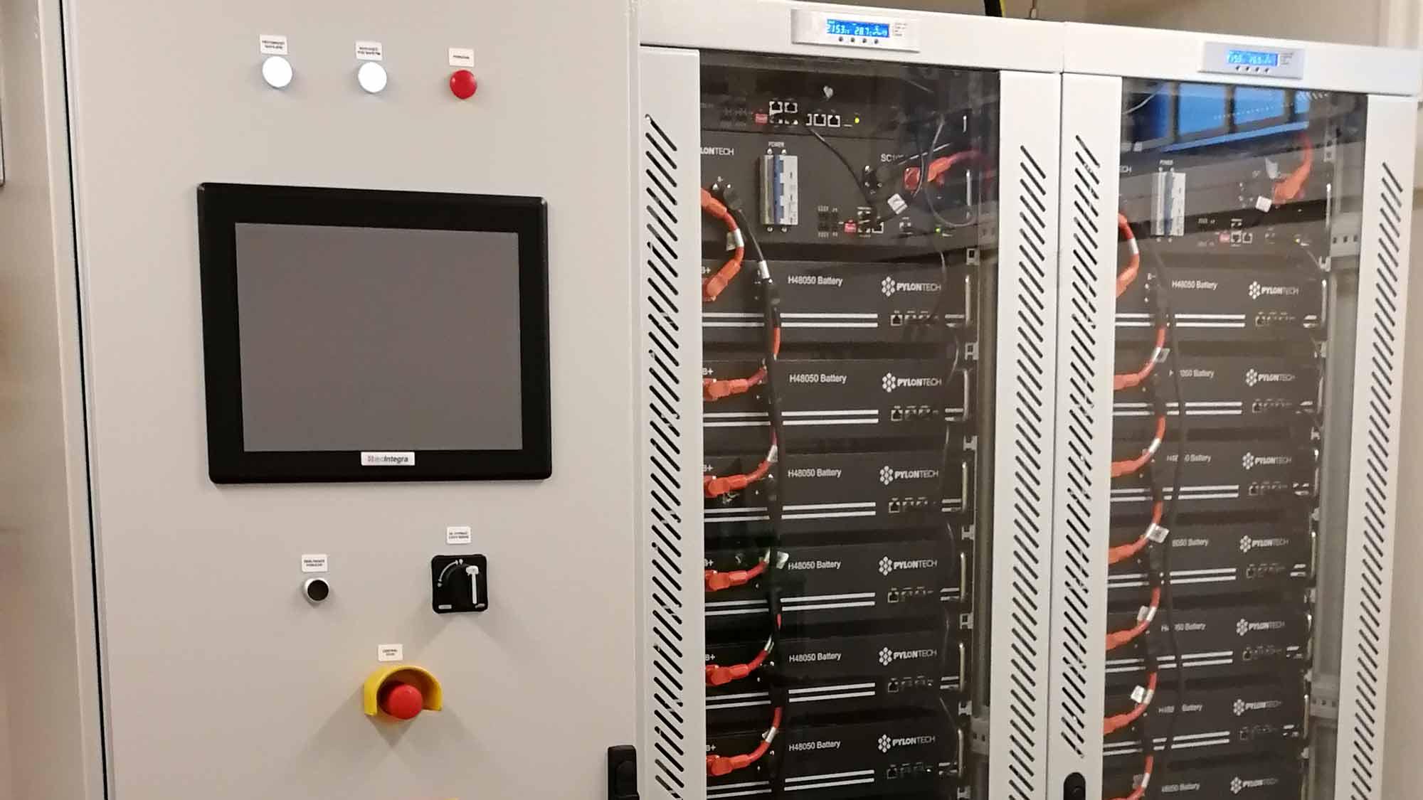 Pořízení stacionárního bateriového uložiště o kapacitě 33,6 kWh v K-netu