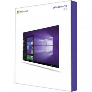 Pohled na krabici Windows 10 Pro