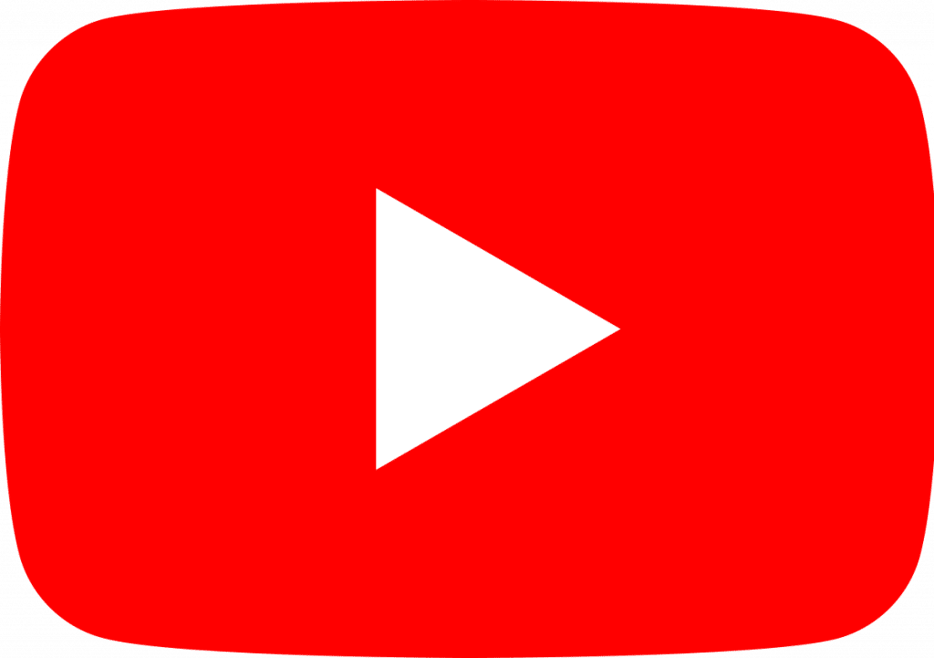 Logo of online video sharing and streaming service Youtube