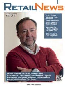 Titulní strana časopisu RetailNews