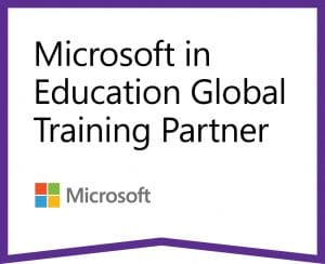 Logo registrovaného partnerství sMicrosoftem voblasti vzdělávání.