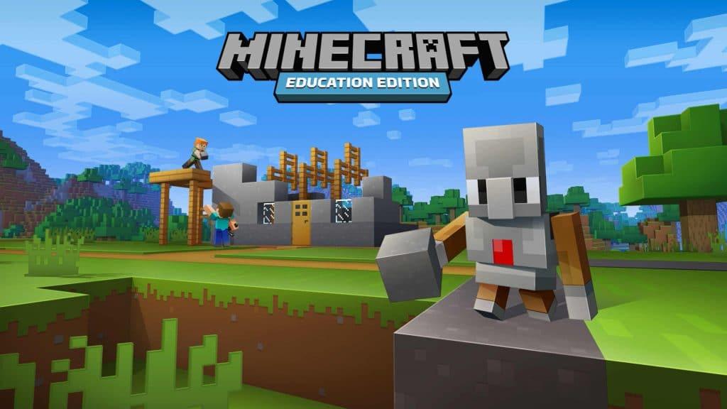 Počítačová výuková hra Minecraft: Education Edition