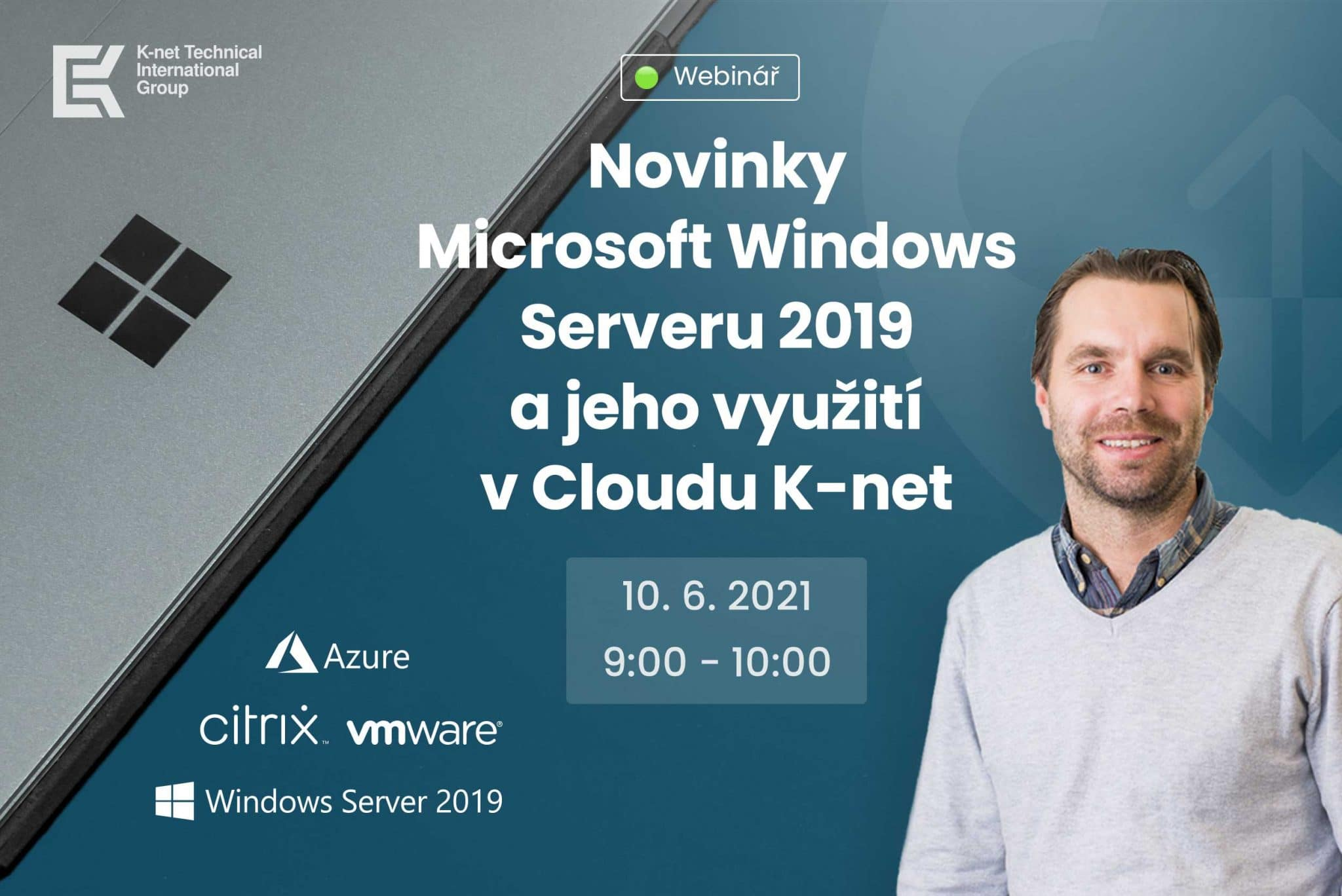 Webinář K-net o novinkách v Microsoft Windows