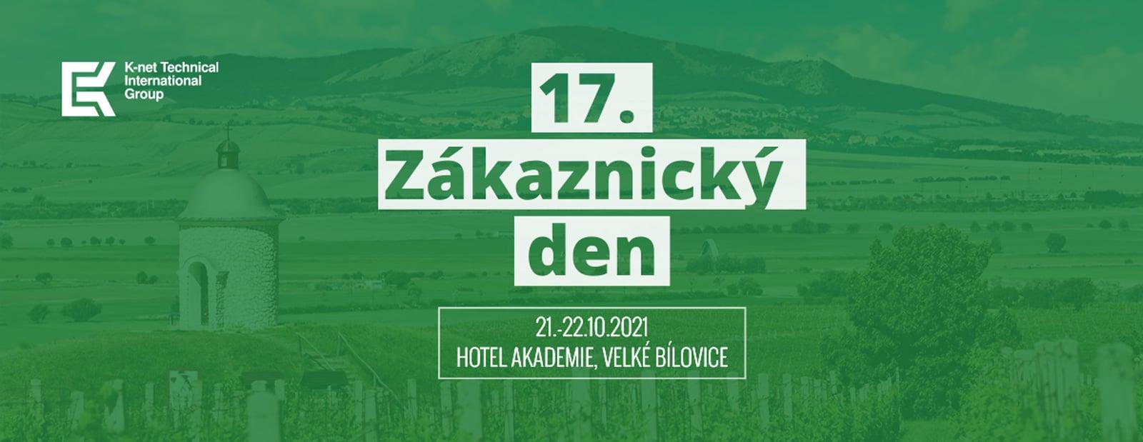 Banner 17. Zákaznického dne