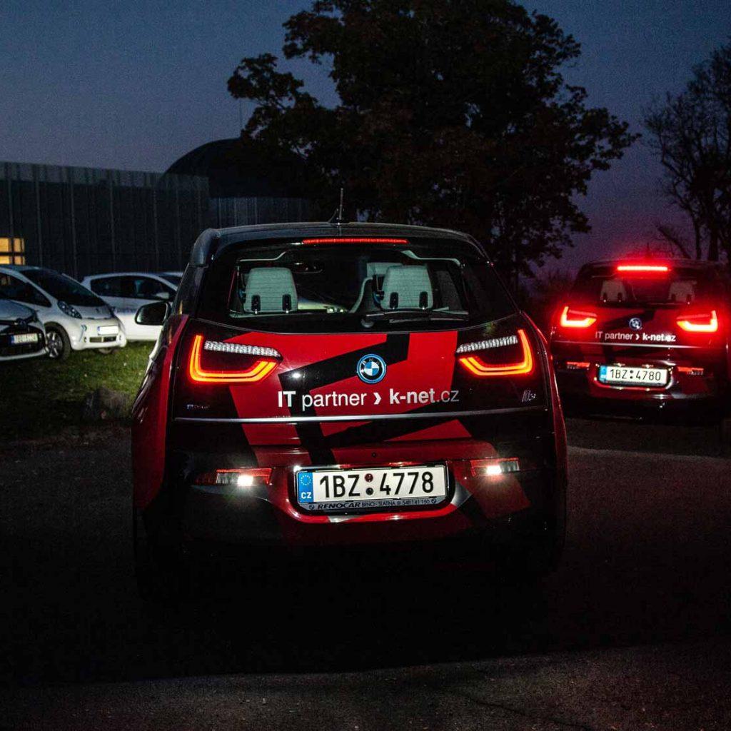 BMW zflotily K-net vnoci